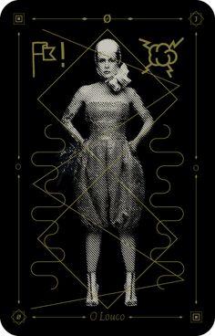 jeu de tarot pour Fernanda Young /TRAFIK