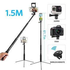 Leicht und überraschend stabil  Elektronik & Foto, Kamera & Foto, Stative, Klemm- & Mini-Stative Gopro, Smartphone, Bluetooth, Selfie, Home Appliances, Mini, Pictures, Technology, Remote