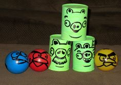 5 Homemade Angry Birds Party Games - Yahoo! Voices - voices.yahoo.com.