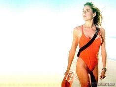 Baywatch - Shawn Weatherly as lifeguard Jill Riley from Hero Movie, Movie Tv, Sensory Deprivation, Baywatch, Surfs Up, Lifeguard, Swimsuits, Swimwear, Cheerleading