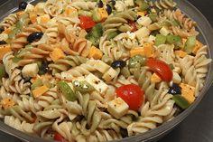 Oil and vinegar pasta recipe