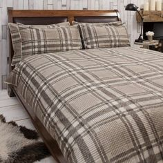 Harris Brown Quilt Cover Set, Available in 4 Sizes - Starting from £55 | brandinteriors.co.uk
