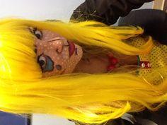 Halloween 2012 pop art comic girl costume