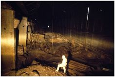 Russian Photographer inside Chernobyl Reactor in 1990