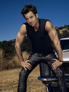 Hello arms... And leather pants...
