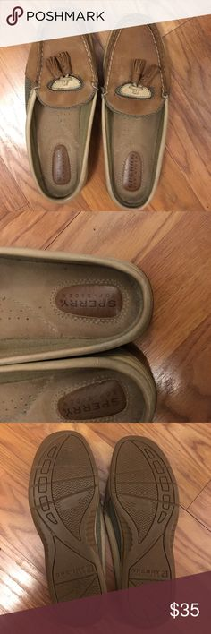 Sperry clogs, barely worn Sz 6, great condition Brown sperrys, great condition! Sperry Top-Sider Shoes Flats & Loafers