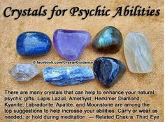 Crystals for psychic third eye chakra Crystal Magic, Crystal Healing Stones, Healing Crystal Jewelry, Crystals And Gemstones, Stones And Crystals, Gem Stones, Story Stones, Crystal Meanings, Rocks And Gems