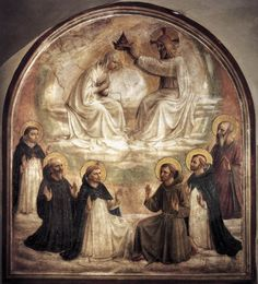 Coronation of the Virgin by Blessed John of Fiesole (Fra Angelico).