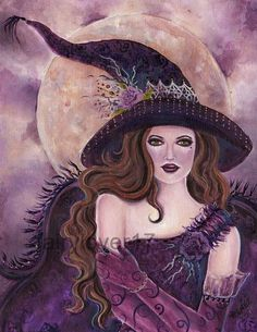 Witch.....i want tina to paint this for me!
