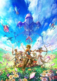 Heroes of Mana - Box Art