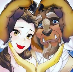 Beauty and the beast イ ラ ス ト принцесса белль, рисунки диснея y пары дисней. Disney Fan Art, Disney Pixar, Walt Disney, Disney E Dreamworks, Disney Magic, Disney Movies, Disney Characters, Disney Stuff, Couple Disney