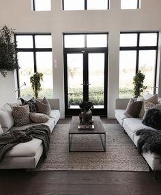 38 modern living room decorating ideas 22 - Living Room Decor - Home Minimalist Living Room, House Interior, Home, Minimalist Living, Living Decor, House Rooms, Modern Minimalist Living Room, Living Room Decor Apartment, Farm House Living Room