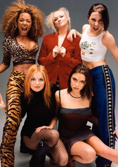 "| Spice Girls | The Spice Girls are an English pop girl group formed in 1994. They were signed to Virgin Records and released their debut single ""Wannabe"" in 1996, which hit number one in 37 countries and established them as a global phenomenon."