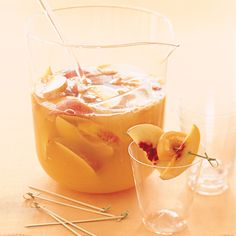 During the sultry August of 1964, many Americans sampled this Spanish drink for the first time at the New York World's Fair. Sangria, a mixture of chilled wine and fruit, was an instant hit.