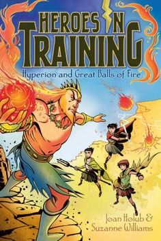 """Under the titan Hyperion's rule, the sun is burning even brighter than normal and scorching everything in northern Greece--including the villagers! The Olympians are forced to play a sizzling """"game"""" of Dodge the Sunbursts as Hyperion hurls giant fireballs that could fry them to pieces!"""