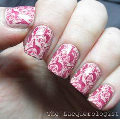 Bundle Monster Rose Nail Art - The Lacquerologist BM-H16