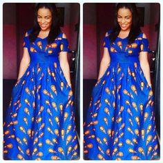 African Maxi Dress Styles 2018 : Elegant African Maxi Dresses CollectionLatest Ankara Styles and Aso Ebi Styles 2020 Ankara Maxi Dress, African Maxi Dresses, African Attire, African Wear, African Clothes, African Style, African Fashion Designers, African Men Fashion, Nigerian Fashion