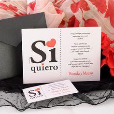 Participación Wanda y Mauro | Punto & Papel - Tarjetería social | Papelería comercial | Artículos de Escritorio | Regalos | Línea Infantil.