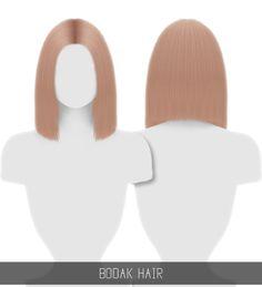 BODAK HAIR for The Sims 4 by Simpliciaty