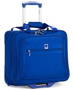CLOSEOUT! Delsey Helium Hyperlite Spinner Luggage, In Blue, a Macy's Exclusive Color - Luggage Collections - luggage & backpacks - Macy's