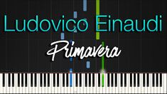 Introducing another Synthesia Piano Tutorial from italian new age pianist and composer Ludovico Einaudi titled Primavera from his album Divenire. Ludovico is. Piano Tutorial, New Age, Apple Music, Tutorials, Neon Signs, Album, Card Book, Wizards