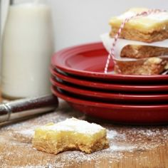 All the goodness of cheesecake in little squares. Delicious, chewy, and rich. Cheesecake Squares from Sugar Bean Bakers.