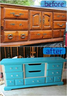 Trash to Treasure: Baby's Dresser, I wish I could see the potential in old furniture, but I usually can't see anything more than junk.