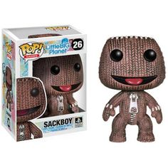 Your favorite video game characters get the Pop! This Little Big Planet Sackboy Pop! Vinyl Figure features the protagonist of Little Big Planet in the fun Pop! stylization from Funko. Pop Vinyl Figures, Funko Pop Figures, Little Big Planet, Pop Characters, Video Game Characters, Pop Bobble Heads, Wacky Wobbler, Pop Collection, Pop Games