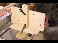 Part one of building the table saw dovetail jigs. http://woodgears.ca/dovetail/build1.html