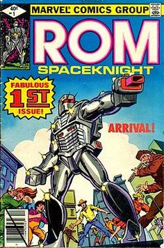 Another weirdo superhero. a spaceknight that I believe started as a toy that then was put out as a comic book.