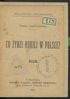 Co Żydzi robili w Polsce? – Polona Freemason, Coaching, Place Cards, Knowledge, Place Card Holders, Humor, Personalized Items, History, Retro