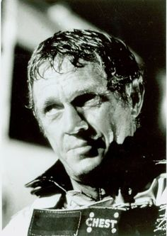 """Steve """"The Towering Inferno"""" 1974 The Towering Inferno, Steve Mcqueen, No One Loves Me, Sexy Men, First Love, Board, Sign, Planks"""