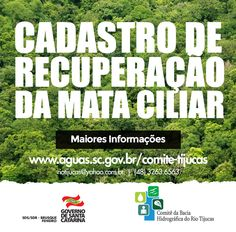 Banner Facebook - Cadastro de Recuperação da Mata Ciliar