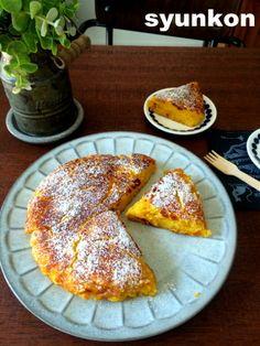 【簡単おやつ!材料3つ】卵不使用*ホットケーキミックスでもちもちかぼちゃパンと、怖い話が無理な件 | 山本ゆりオフィシャルブログ「含み笑いのカフェごはん『syunkon』」Powered by Ameba