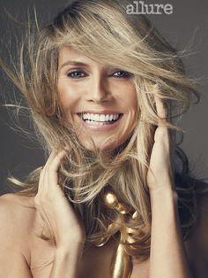Heidi Klum: Behind the Scenes  (I love her sparkling eyes and bright smile, she looks really joyful!)