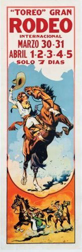 Vintage Cowgirl Posters