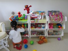 transformed: Toy organization in Audrey's room