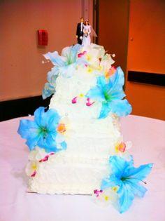 Hawaiian Wedding Cake Bake Your Day, LLC - Alexandria, LA www.facebook.com/bakeyourdayllc (318) 229-0299 bakeyourdayllc@hotmail.com