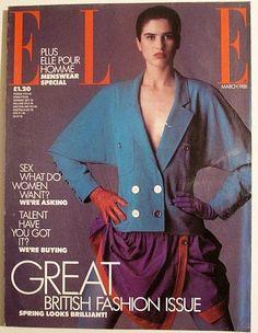 Elle magazine March 1988