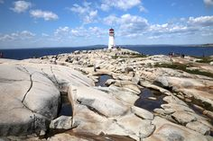 The iconic Lighthouse at Peggy's Cove: Nova Scotia Bucket List: 20 of the Best Things To Do When You Visit Places To Travel, Places To See, Nova Scotia Travel, East Coast Road Trip, Canada Travel, Canada Trip, Travel Oklahoma, New York Travel, Thailand Travel