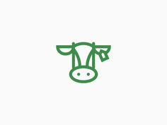 Cow icon designed by Mark van 't Veer. Cow Icon, Cow Tattoo, Cow Logo, Branding Design, Logo Design, Film Logo, Taurus Tattoos, Cow Pictures, Cow Art