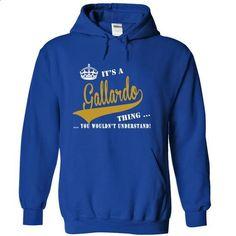 Its a Gallardo Thing, You Wouldnt Understand! - t shirt printing #harvard sweatshirt #design shirt