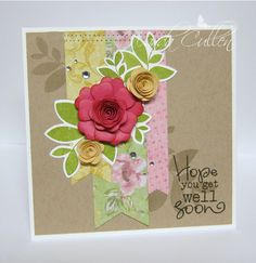 Card by Wanda Cullen using Verve Stamps.  #vervestamps