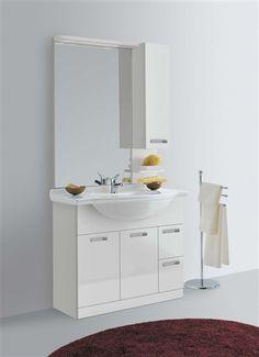 rapsel lavabo two-qb lavabo realizzato in parapan® di colore ... - Lucido Cabinet Grigio Lavandino