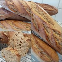 Dinkel-Vollkornbaguette - HOMEBAKING BLOG - The Art of Baking