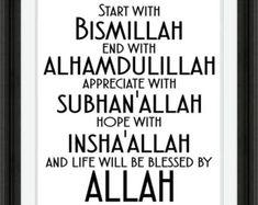 Beginnen met Bismillah Instant Digitale Download