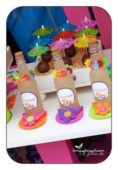Photo 1 of 27: Summer Pool Party / Birthday Sweet Summer | Catch My Party - love the fun theme and color scheme
