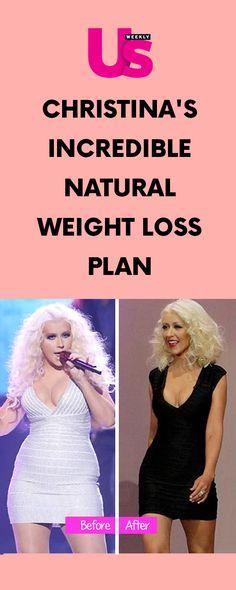 Christina's Incredible Natural Weight Loss Plan