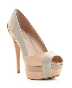 Jessica Simpson Shoes, Weema Platform Pumps