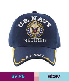 NEW US ARMY RETIRED BIG ROUND SIDE LINE CAP HAT BLACK